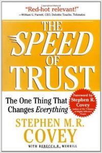 The Speed of Trust Book Cover