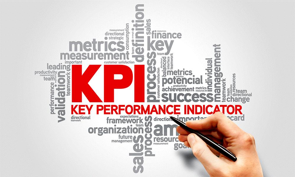 Key Performance Indicator Word Cloud