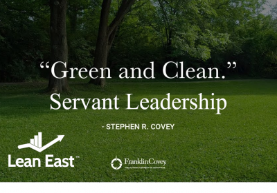 Green and Clean: Servant Leadership