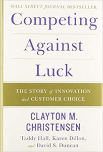 Competing Against Luck Book Cover