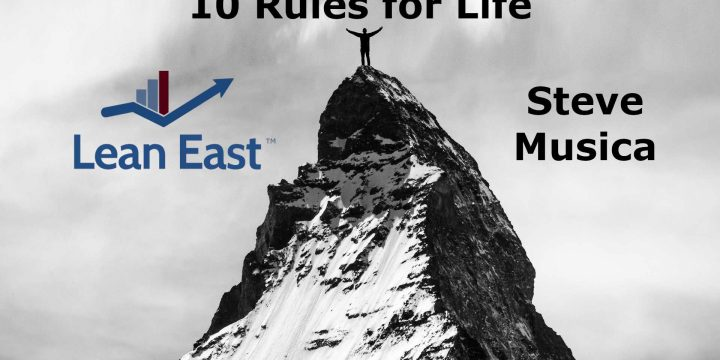 10 Rules for Life
