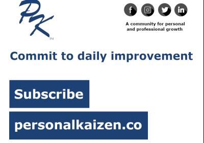 Introducing PersonalKaizen.co