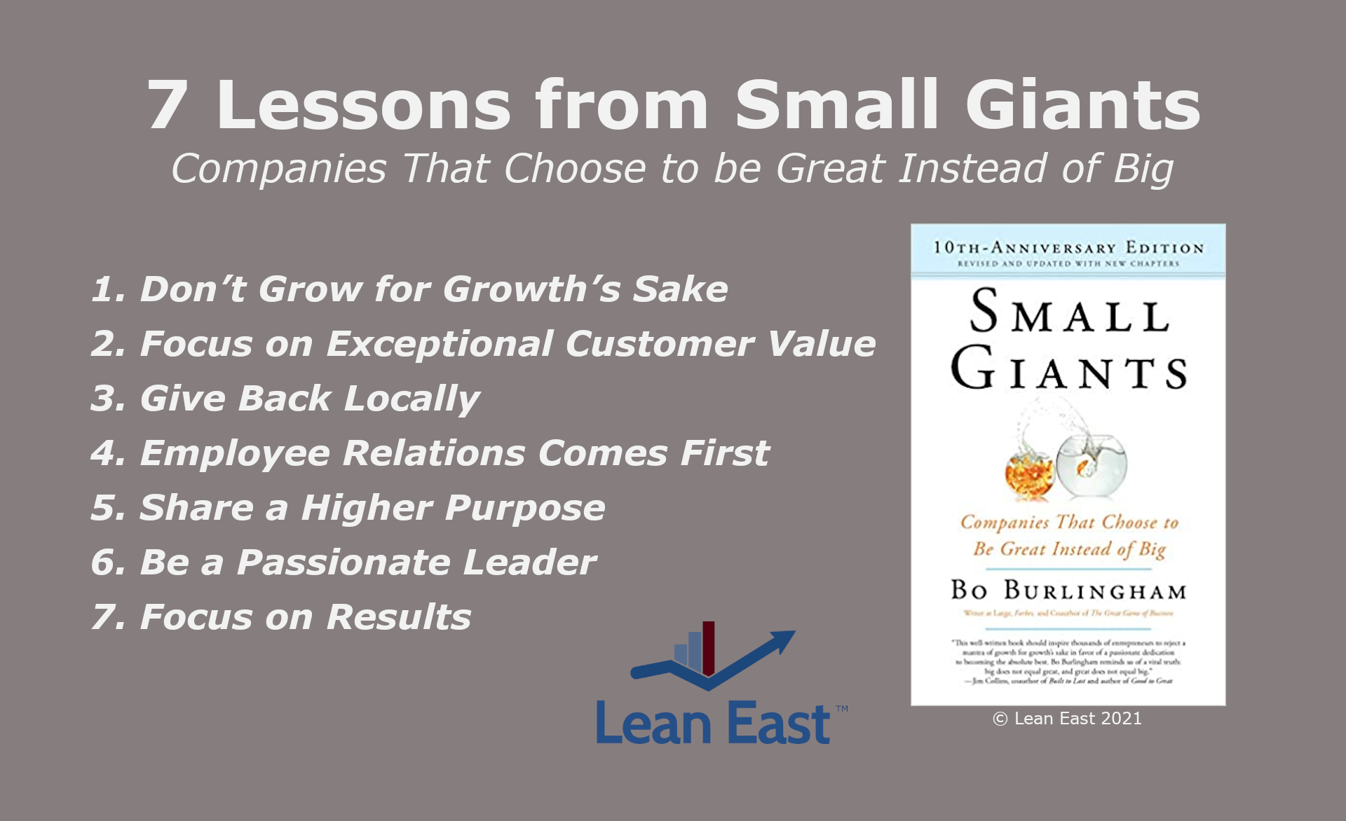 7 Lessons from Small Giants